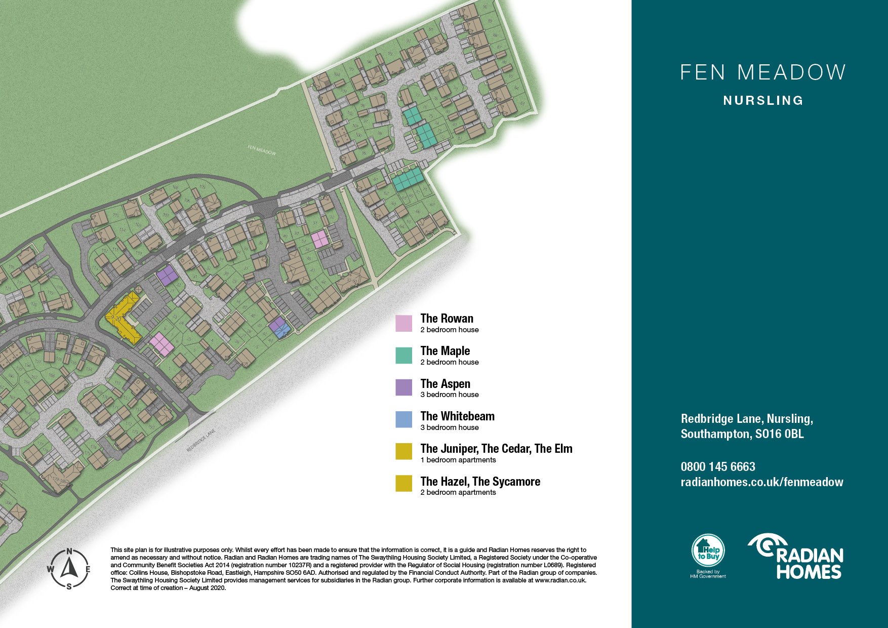 Fen Meadow, Nursling, Southampton - Radian Homes